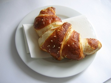 Croissant es uno de los desayunos franceses