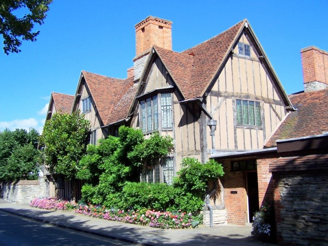 casa de william shakespeare