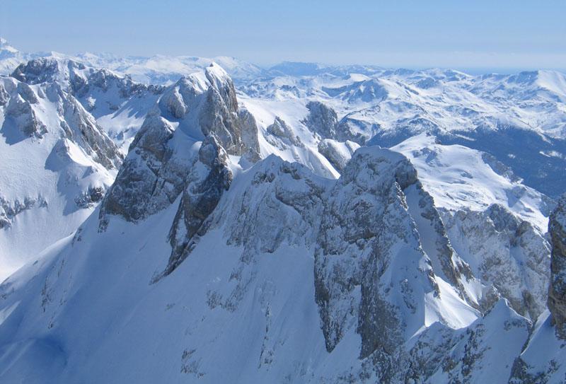 Picos de Europa en invierno