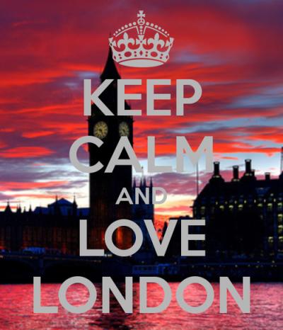 Mantén la calma y ama Londres